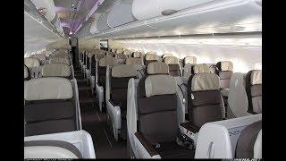 Air France A380-800 Business class Paris to New York AF6 (flight review #32)