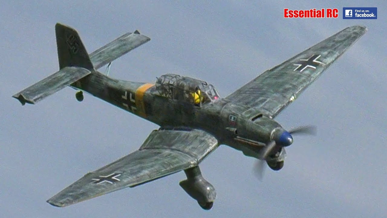 hight resolution of junkers ju 87 rc dive bomber