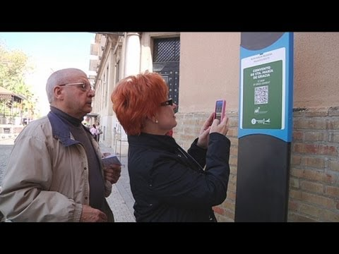 AS QR codes turn into the new touristic guides of Huelva's visitors