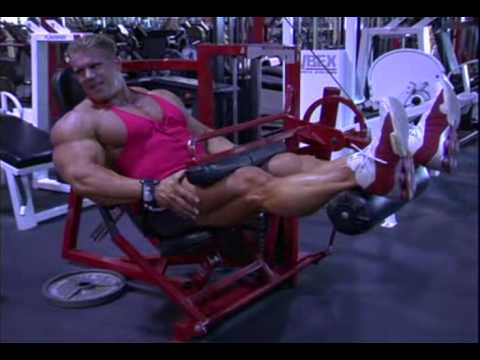 Jay Cutler leg workout