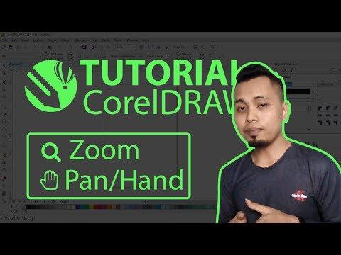 Tutorial Dasar Coreldraw Pengenalan Zoom dan Hand Tool