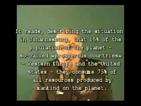 "Secrets Of Control Of Humanity ""Mertvya Voda"" General K P Petrov Part 1"