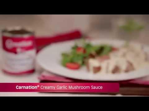 Carnation® Creamy Garlic Mushroom Sauce