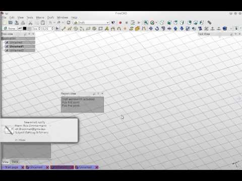 Preview Of Freecad Alternative Interface Youtube