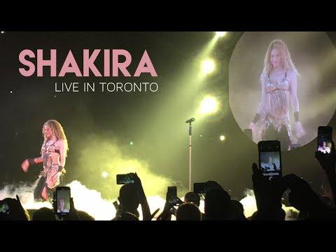 Shakira El Dorado World Tour Toronto Live ft. \