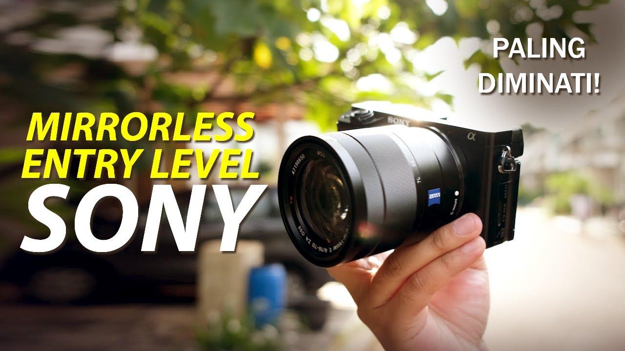 Rekomen Buat Pemula Belajar Fotografi | Kamera Mirrorless Sony a6100