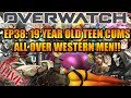 OVERWATCH LIVE 38: 19 YEAR OLD TEEN CUMS ALL OVER WESTERN MEN!!!!