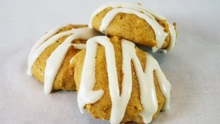 Old-fashioned Soft Pumpkin Cookies W/vanilla Glaze Recipe