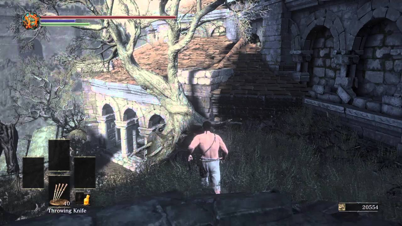 Dark Souls 3 How To Get To Firelink Shrine Rooftop Tree Trick Location Youtube