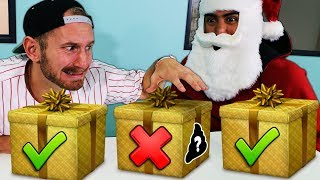 DONT Open the Wrong Mystery Present!! vs TEAM EDGE