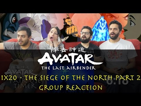 Avatar: The Last Airbender - 1x20 The Siege of the North Part 2 - Group Reaction
