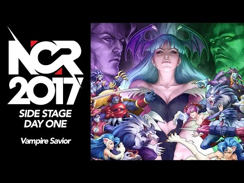 NorCal Regionals 2017 - Day 1 Side Stage - Vampire Savior Tournament