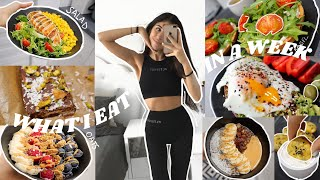 What I Eat In A Week | Balanced and Realistic |