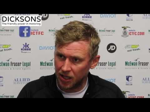 CaleyJagsTV : Richie Foran Match Preview v Motherwell FC : 13/04/17