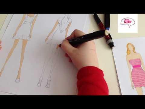 Moda Tasarım Stilistlik - Tasarımı Renklendirme