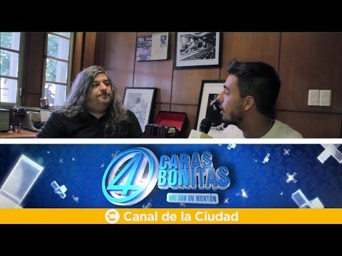 "<h3 class=""list-group-item-title"">Gustavo Cerati y el ""Cirque du Soleil"": entrevista a Adrián Taverna en 4 Caras Bonitas</h3>"