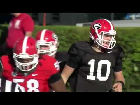 FootBall Games Jacob Eason G Day game completions Georgia Spring Game