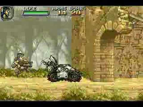 Metal Slug Advance mission 1