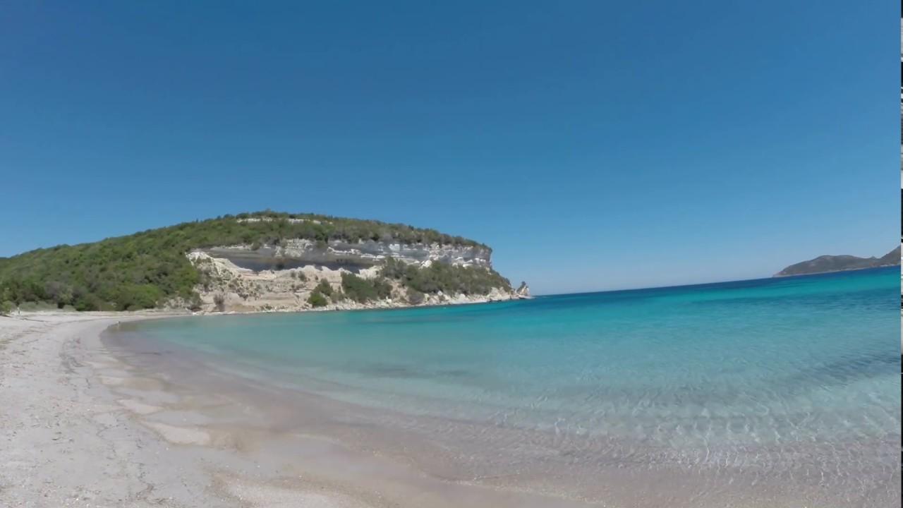 Une plage paradisiaque du c t de bonifacio corse youtube - Image de plage paradisiaque ...