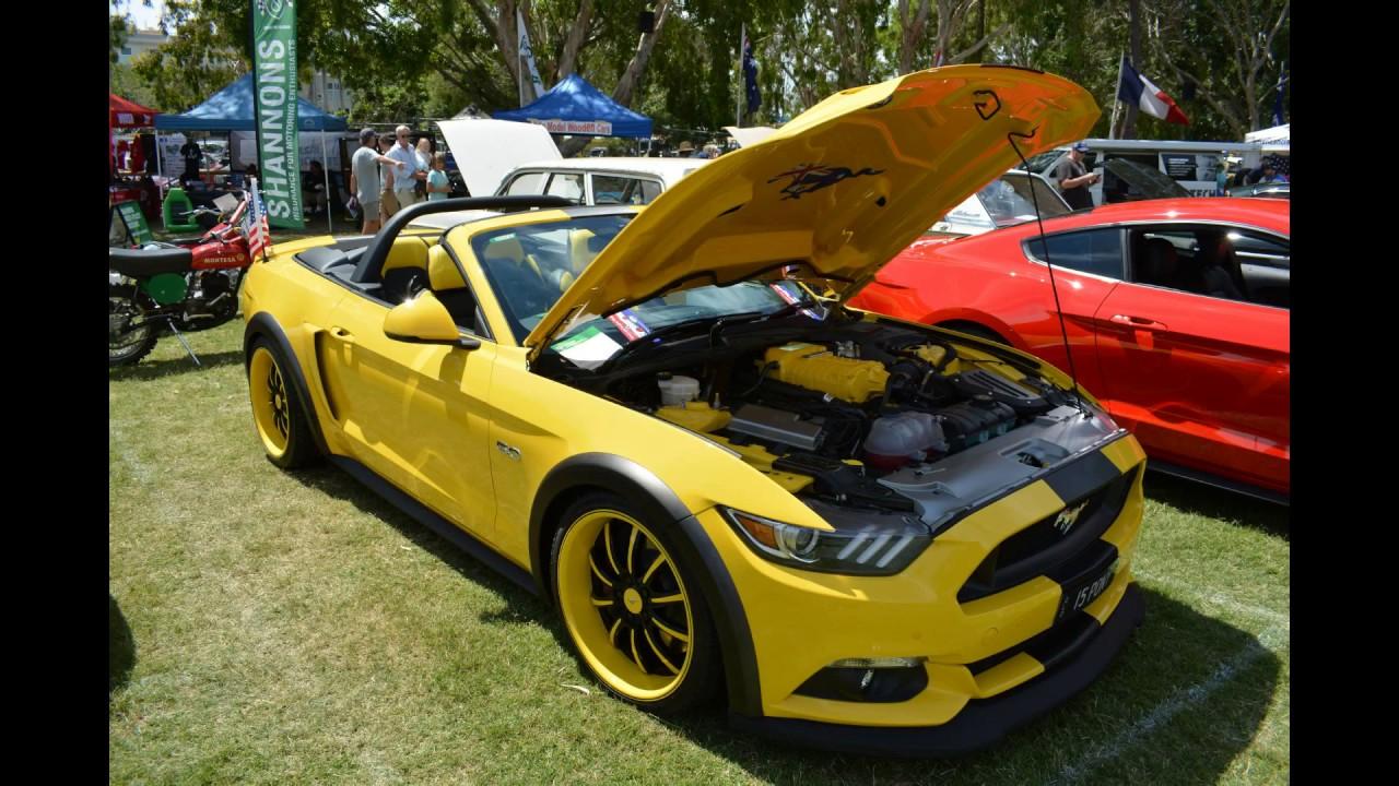 Noosa Beach Classic Car Show 2016