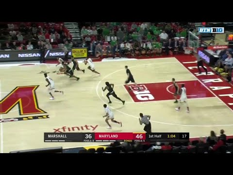 Highlights: Marshall at Maryland | Big Ten Basketball