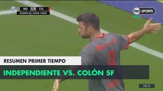 Resumen Primer Tiempo: Independiente vs Colón SF | Fecha 5 - Superliga Argentina 2018/2019