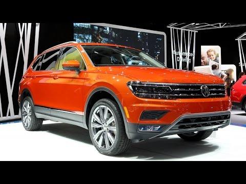 2018 Volkswagen Tiguan Long-wheelbase - 2017 Detroit Auto Show