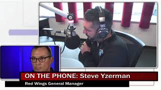 Valenti Show - Valenti talks with new Red Wings GM Steve Yzerman.
