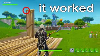 I Went Back to Fortnite Season 1 And Tested Old Glitches...