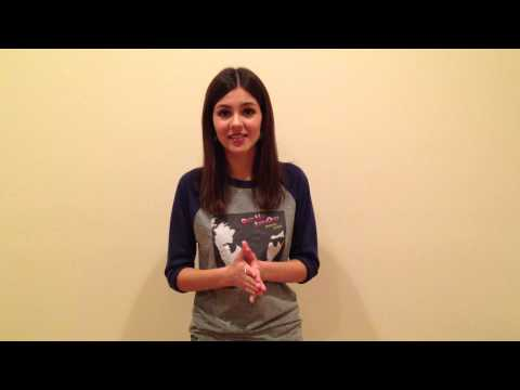 Victoria Justice - Girl Up Introduction
