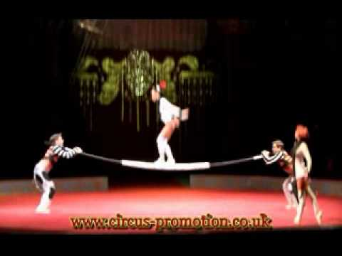 Circus Stardust Presents: Amazing Russian Bar Act (Artist 00545)