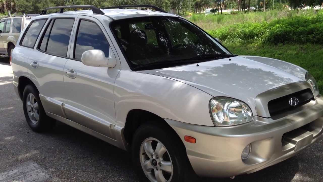 2005 Hyundai Santa Fe View Our Current Inventory At