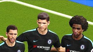 Brighton vs Chelsea 20 January 2018 Gameplay