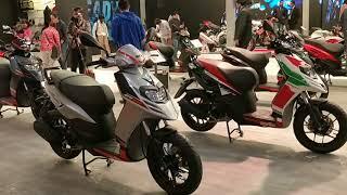 Aprilia SR125 Scooter Launched: Price, Specs, Details, Walkaround : Auto Expo 2018 #ShotOnOnePlus