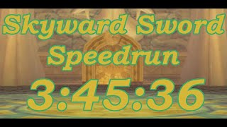 Skyward Sword Any% Speedrun in 3:45:36[World Record]