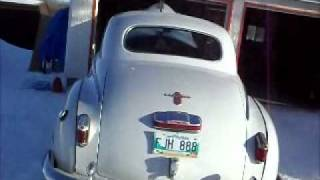 1947 Chrysler Engine Run.wmv