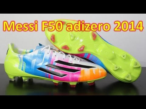 Messi Edition Adidas F50 adizero 2014 - Unboxing + On Feet