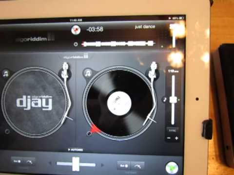 How To Use Seagate GoFlex Satellite with Djay App in iPad