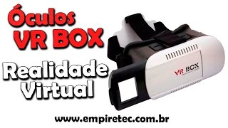 VR BOX, óculos de realidade virtual no celular .SAMSUNG / IPHONE / LG / ASUS / MOTOROLA