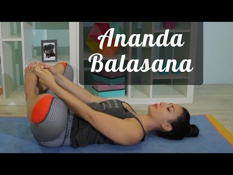 Postura do bebê feliz | Ananda Balasana Tutorial Pri Leite