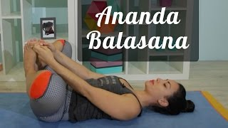 Postura do bebê feliz   Ananda Balasana - Tutorial - Pri Leite