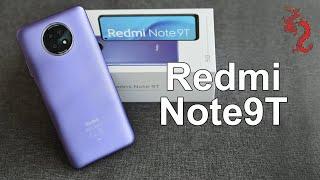 REDM  NOTE 9T ПОДРОБНАЯ распаковка Xiaomi \налюбили\ с процессором