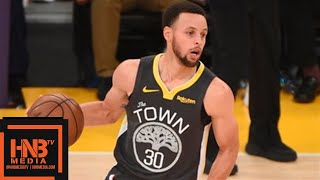 Los Angeles Lakers vs Golden State Warriors Full Game Highlights | April 4, 2018-19 NBA Season