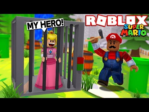 SAVING PRINCESS PEACH!! | Roblox Super Mario Roleplay