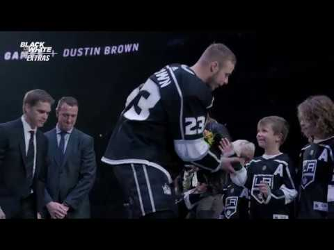 Dustin Brown's 1,000th Game Ceremony | Black & White Extras