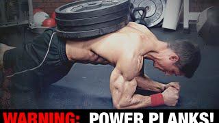 PLANK POWER-UPS! (6 Wege, um Ab Planken Härter)