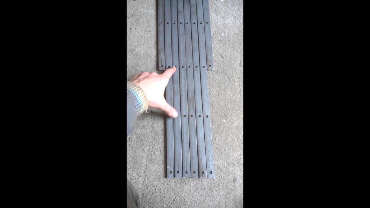 Раздвижная решетка своими руками фото 82