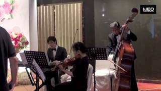"Hong Kong Wedding Violin Trio ""Thousand Years"" - Neo Music Production"