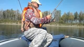 Рыбалка на реке Туба. Сентябрь 2016..