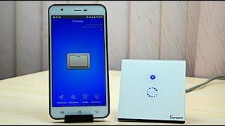 Умный Wi-Fi выключатель Sonoff с Алиэкспресс. Управляй светом из любой точки мира!